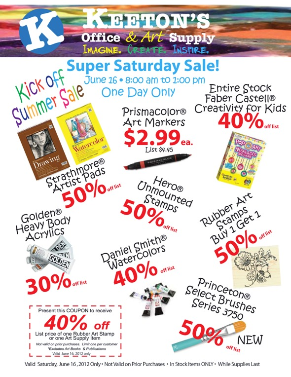 Super Saturday Sale (6/16/2012)