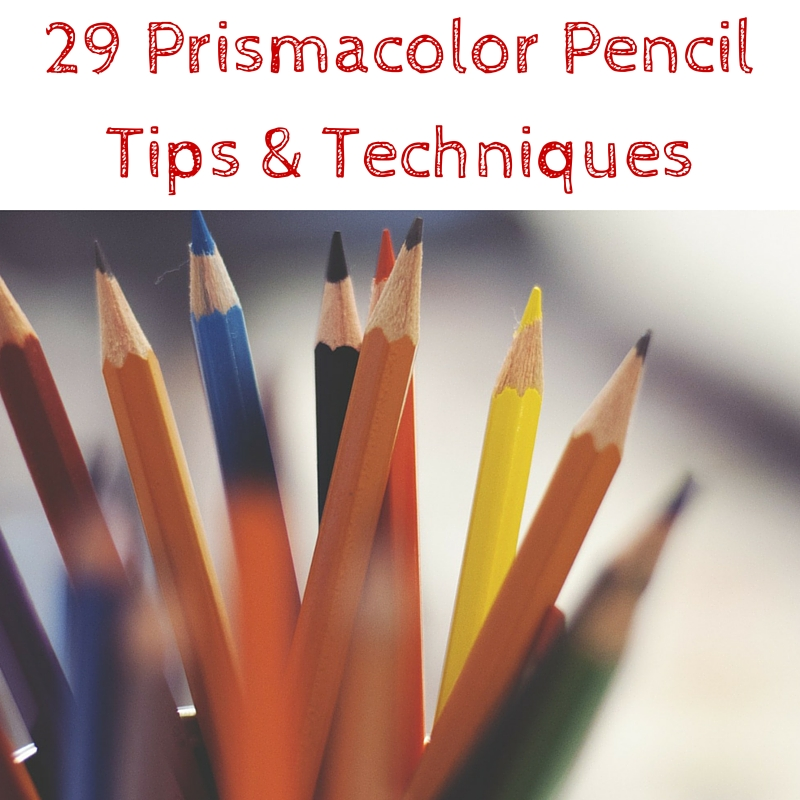 29 Prismacolor Pencil Tips Techniques Art Inspiration