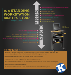 Standing-workstation