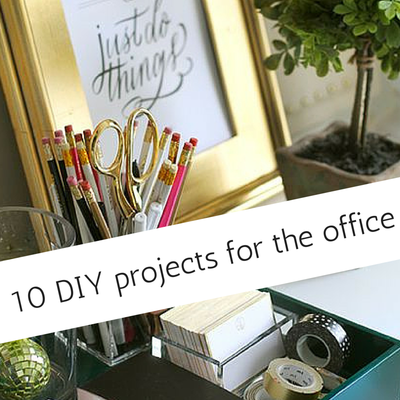 Cubicle keeton39s blog for Office diy projects