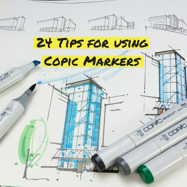 24 Tips for using Copic Markers