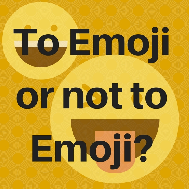 To Emoji or not to Emoji_