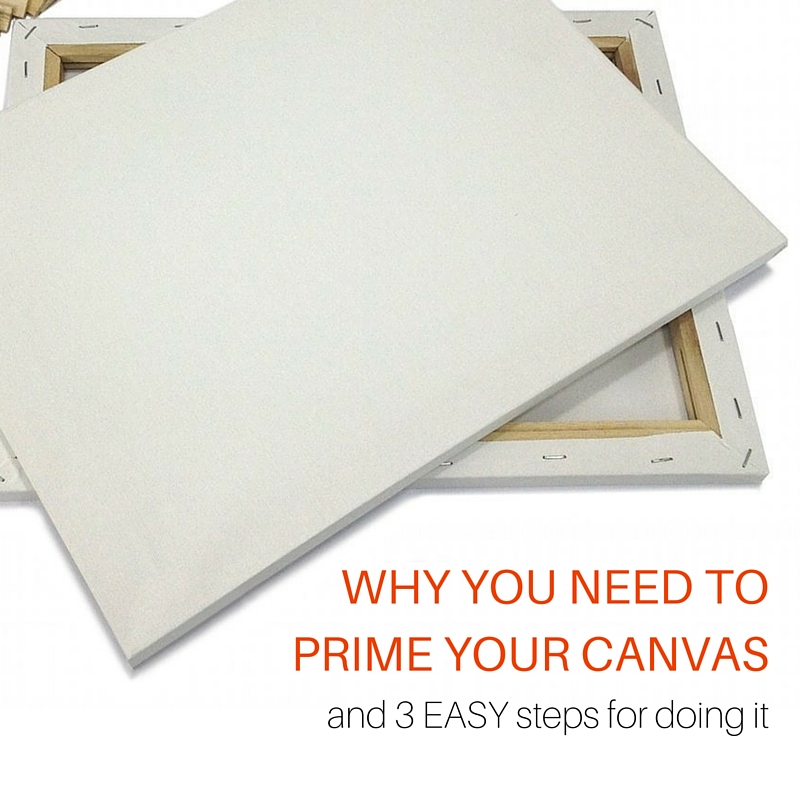 Can You Prime A Canvas With House Paint