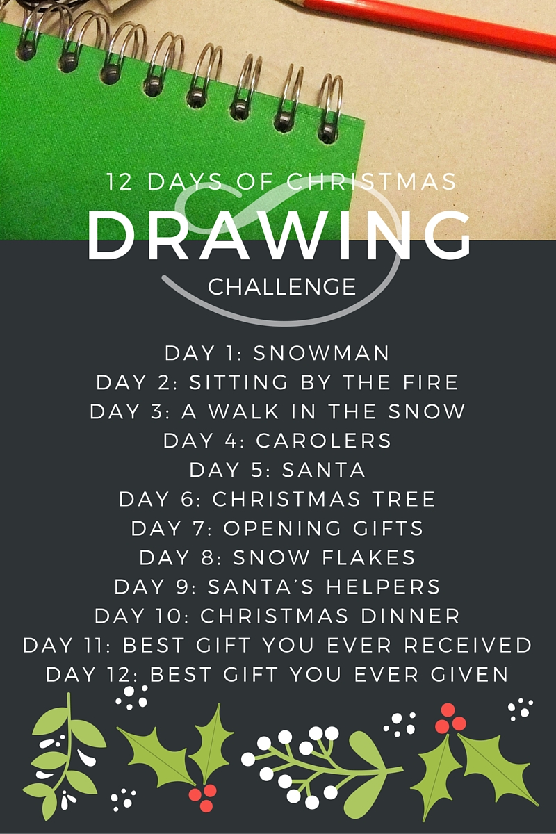 12 Of The Most Beautiful Wedding Dresses For Under 1 000: 12 Days Of Christmas Drawing Challenge