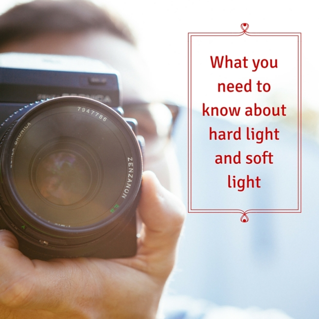 What you need to know about hard light and soft light