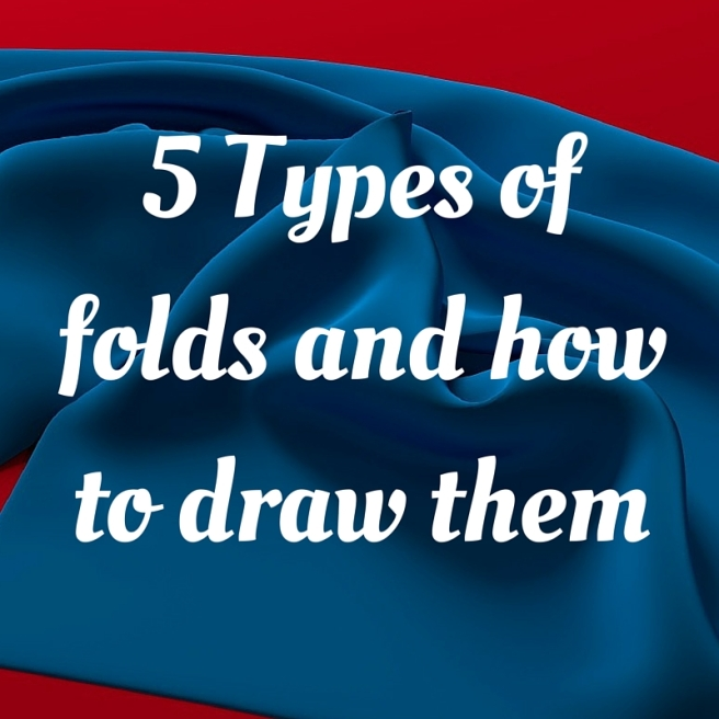 5 Types of folds and how to draw them
