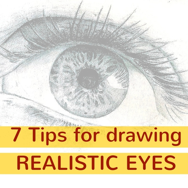 7 Tips for drawing realistic eyes
