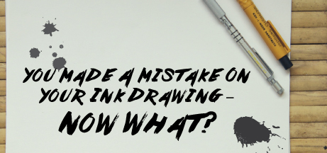 The Biggest Thing Holding Artists Back From Beginning Their Journey In World Of Ink Drawing Is Fear Making A Mistake We Tend To Have This Belief