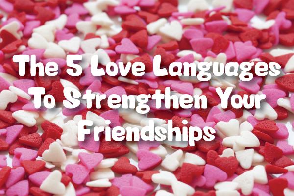 5 different love languages