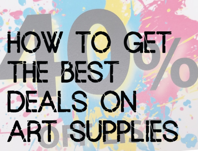 art-supply-deals